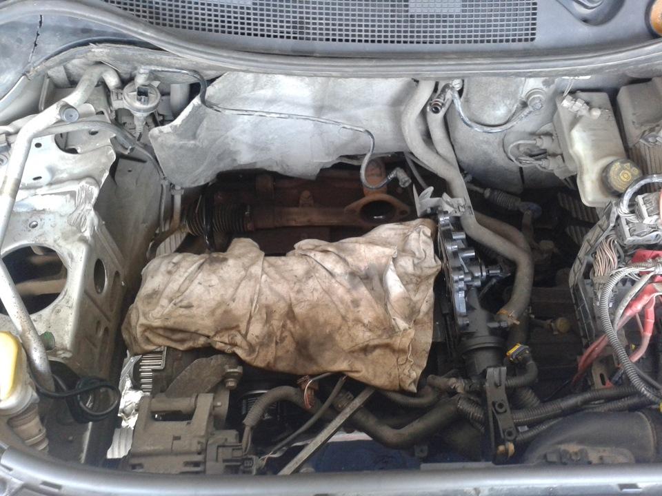 Ремонт двигателя рено меган 2 своими руками