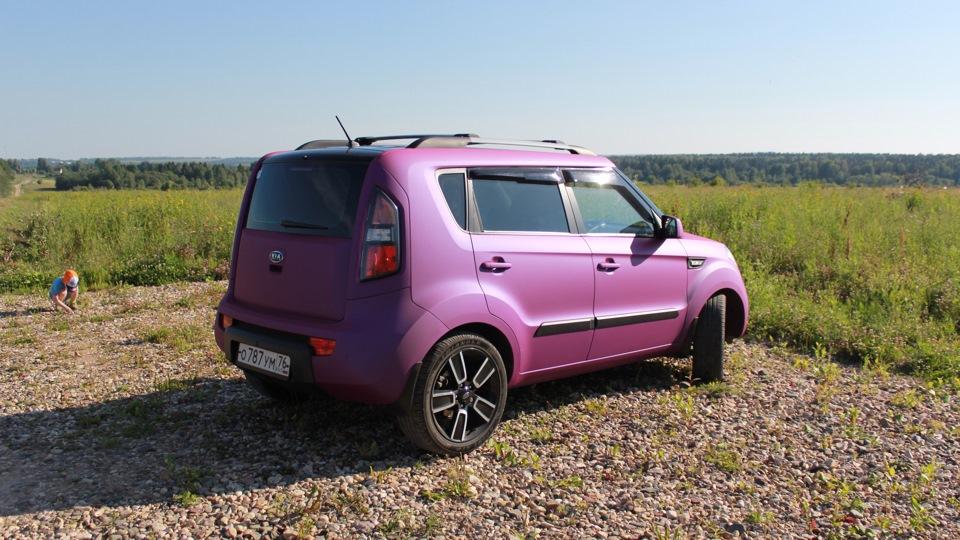 Kia Soul Purple Mystique ͡๏̯͡๏ Drive2