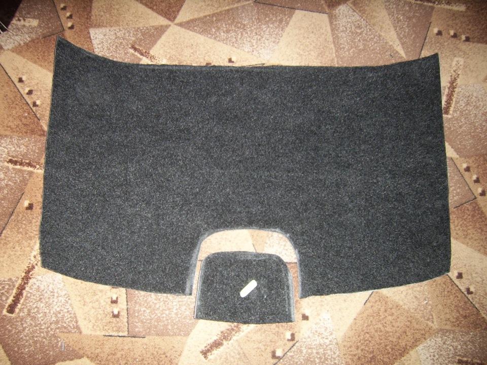 Обшивка багажника своими руками на рено логан