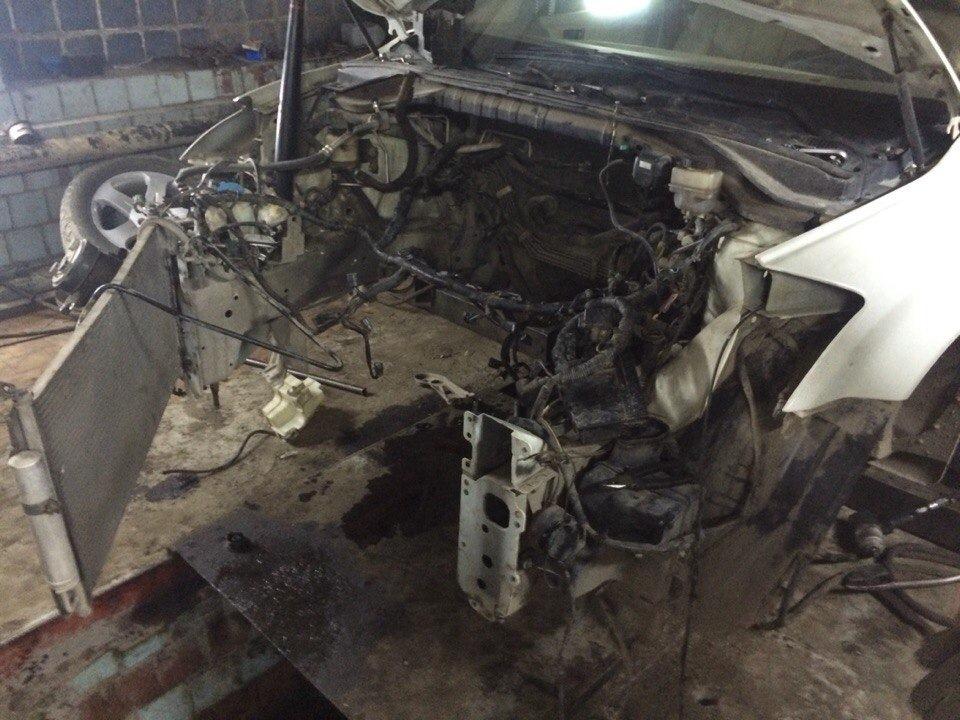 nissan murano провернуло вкладыши сколько стоит ремонт