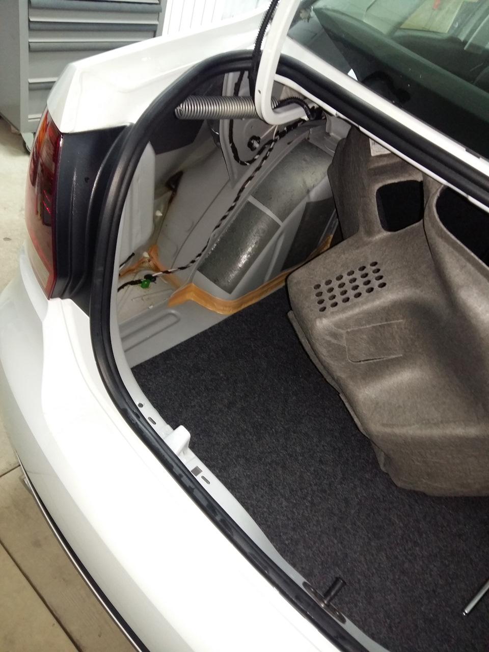 Установка парктроника на VW Polo Sedan бортжурнал. - drive2 21