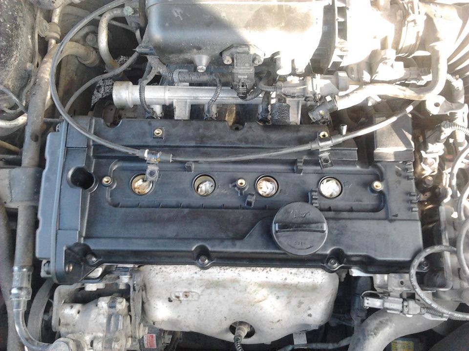 Замена прокладки клапанной крышки и прочее - бортжурнал Hyundai Accent Акцент ТАГАЗ 2007 года на DRIVE2