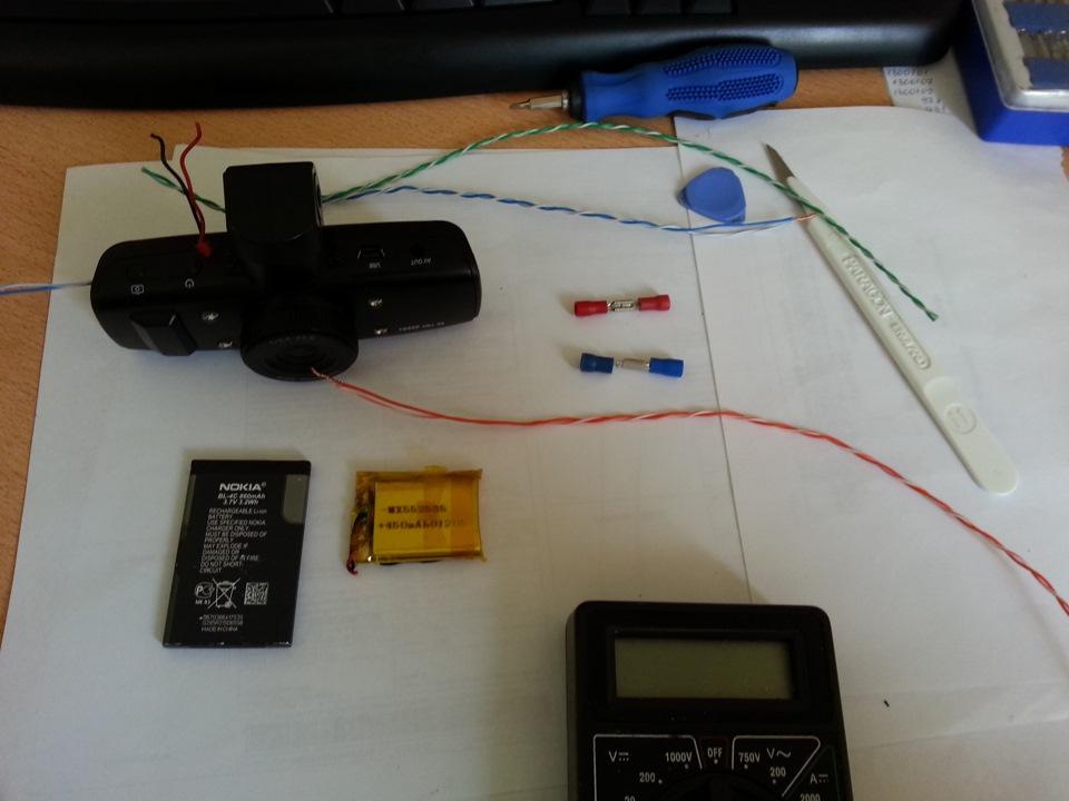 Аккумуляторы к видеорегистратору