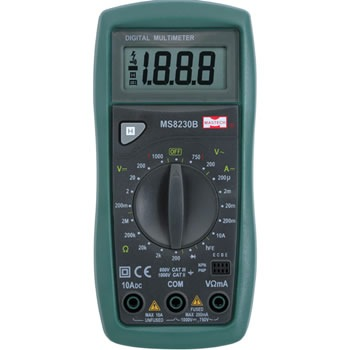 Мультиметр MASTECH MS-8230B является переносным измерительным прибором с ЖК-дисплеем.  Прибор удобен в работе, имеет...