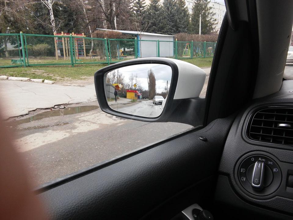 фольксваген поло седан зеркало с подогревом