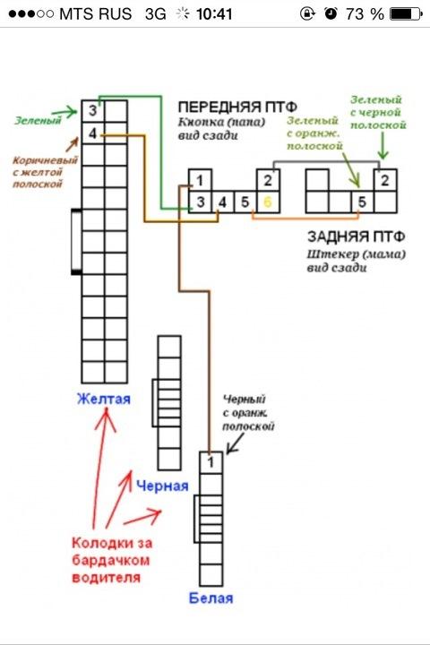 схема установки птф