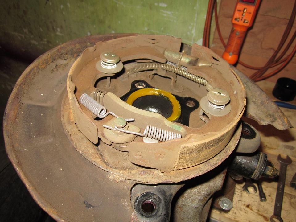 Замена задних барабанных тормозов на дисковые. Часть 1. - бортжурнал Toyota Corona Абсолютная практичность 1992 года на DRIVE2