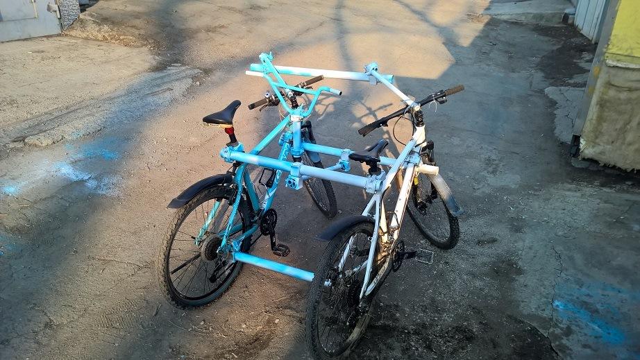 Как сделать с двух велосипедов в один