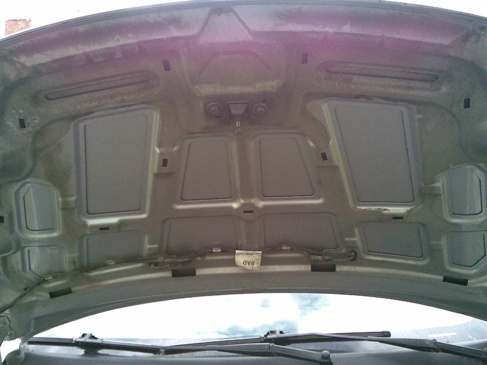 Шумоизоляция капота на форд фокус 2 своими руками