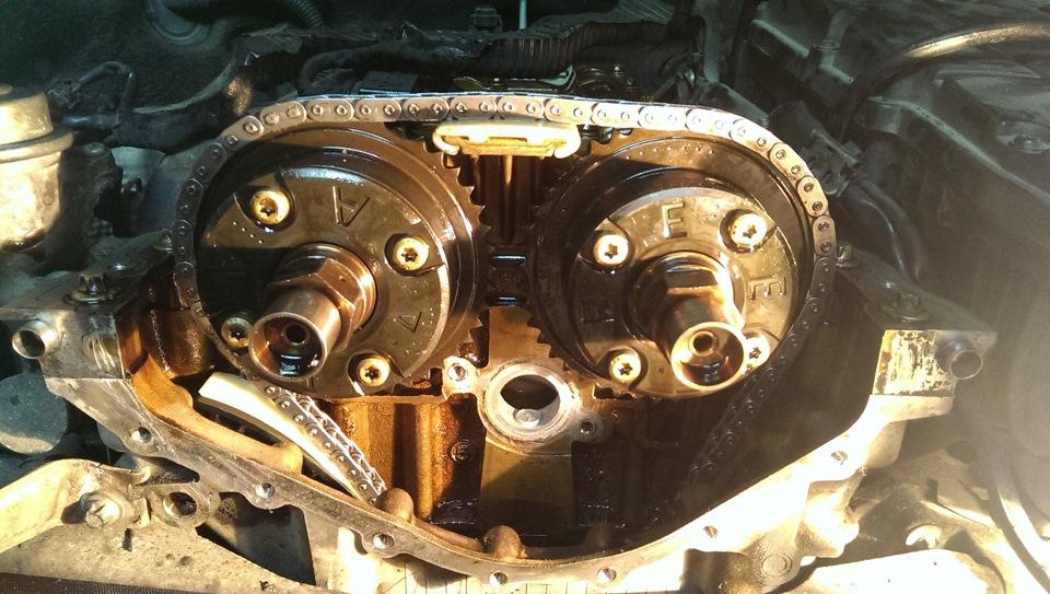 Замена цепи грм 271 мотор