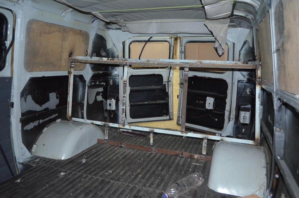 Усиление кузова УАЗ - Клуб любителей микроавтобусов и минивэнов
