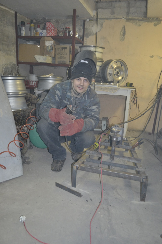 Как сделать станок для полировки дисков