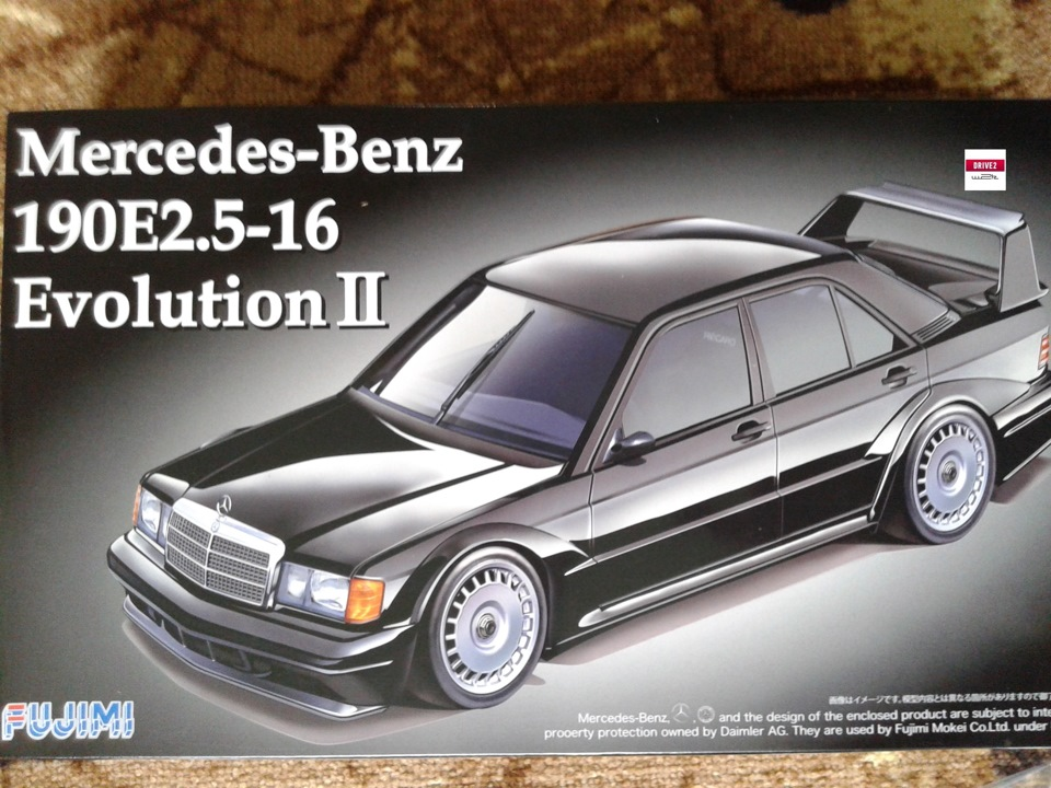 Aoshima fujimi revell crown 3 0 mb for Crown mercedes benz
