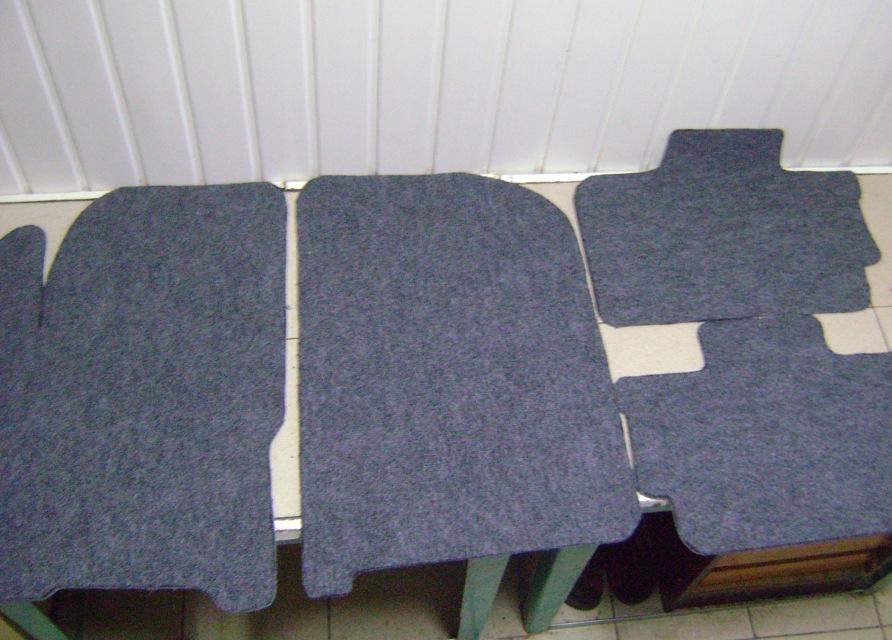 Салонные коврики своими руками
