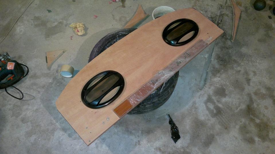 Полка акустическая на ваз 2110 своими руками размеры