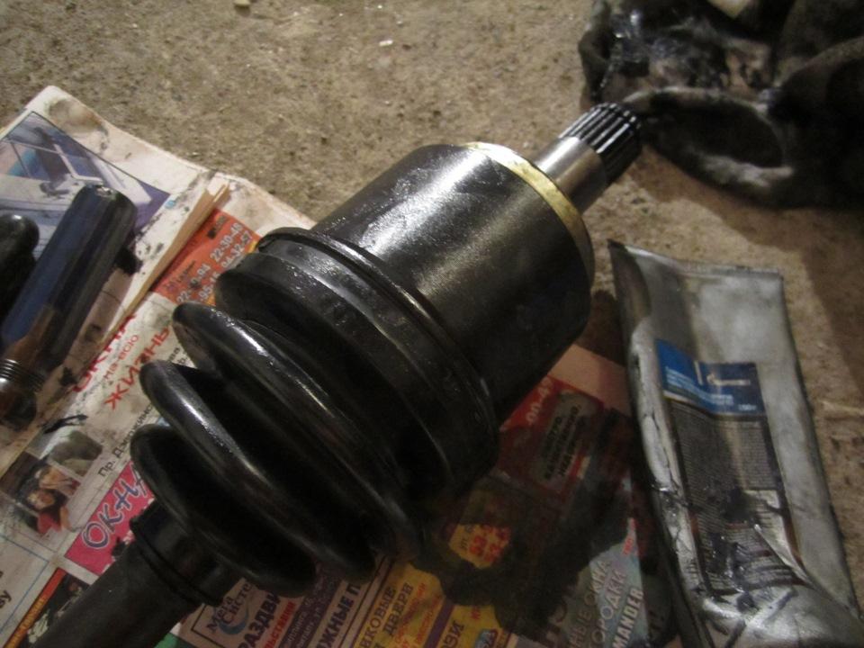 Замена внутренней гранаты на ваз 2110 своими руками