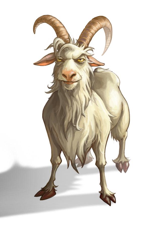 Картинка рисунок козла
