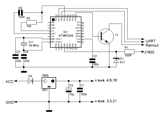J1850 OBDII FORD SCP PWM Documentation Needed