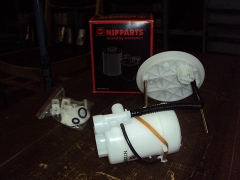Замена топливного фильтра в мицубиси своими руками