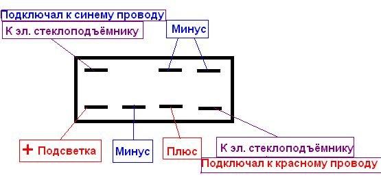 Фото №34 - проводка стеклоподъемников ВАЗ 2110