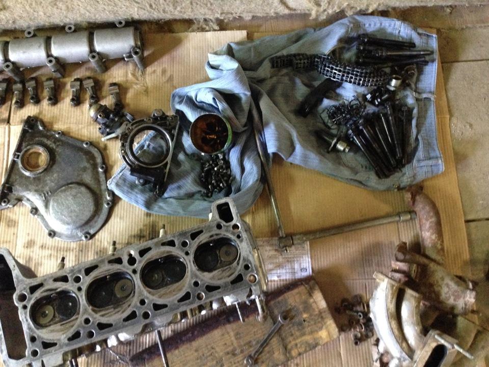 Капитальный ремонт двигателя ваз 2106 своими руками 392