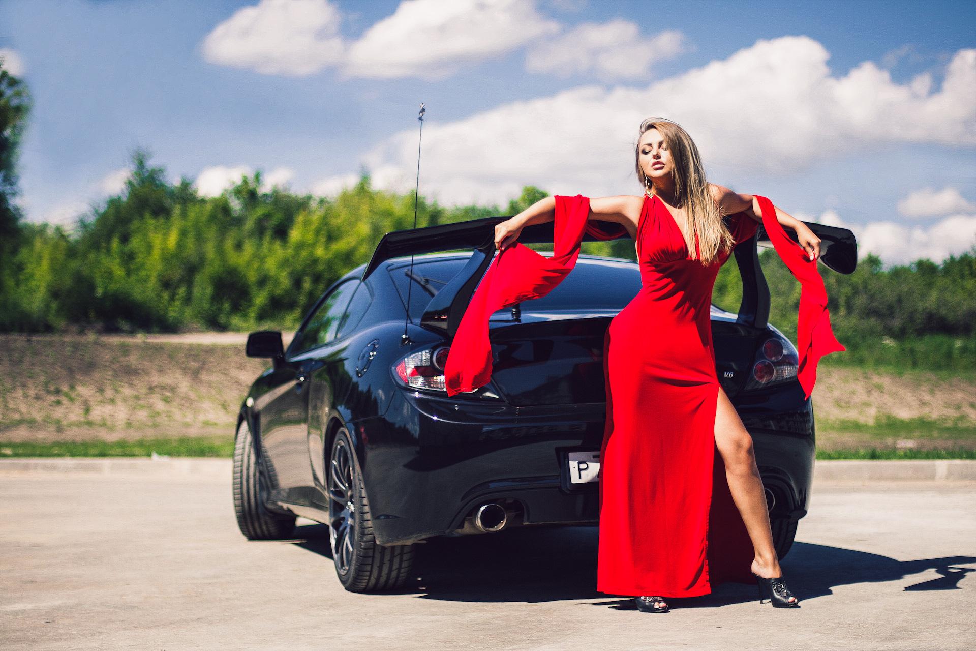 Картинки с девушкой у машины