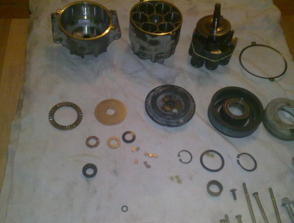 отремонтировать компрессор кондиционера опель