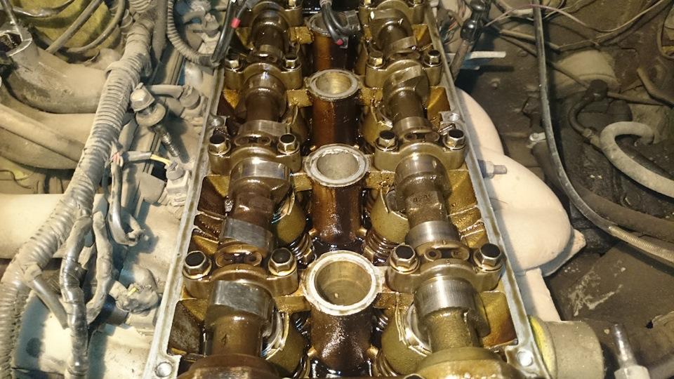 Замена гидрокомпенсаторов на 405 двигателе своими руками 73