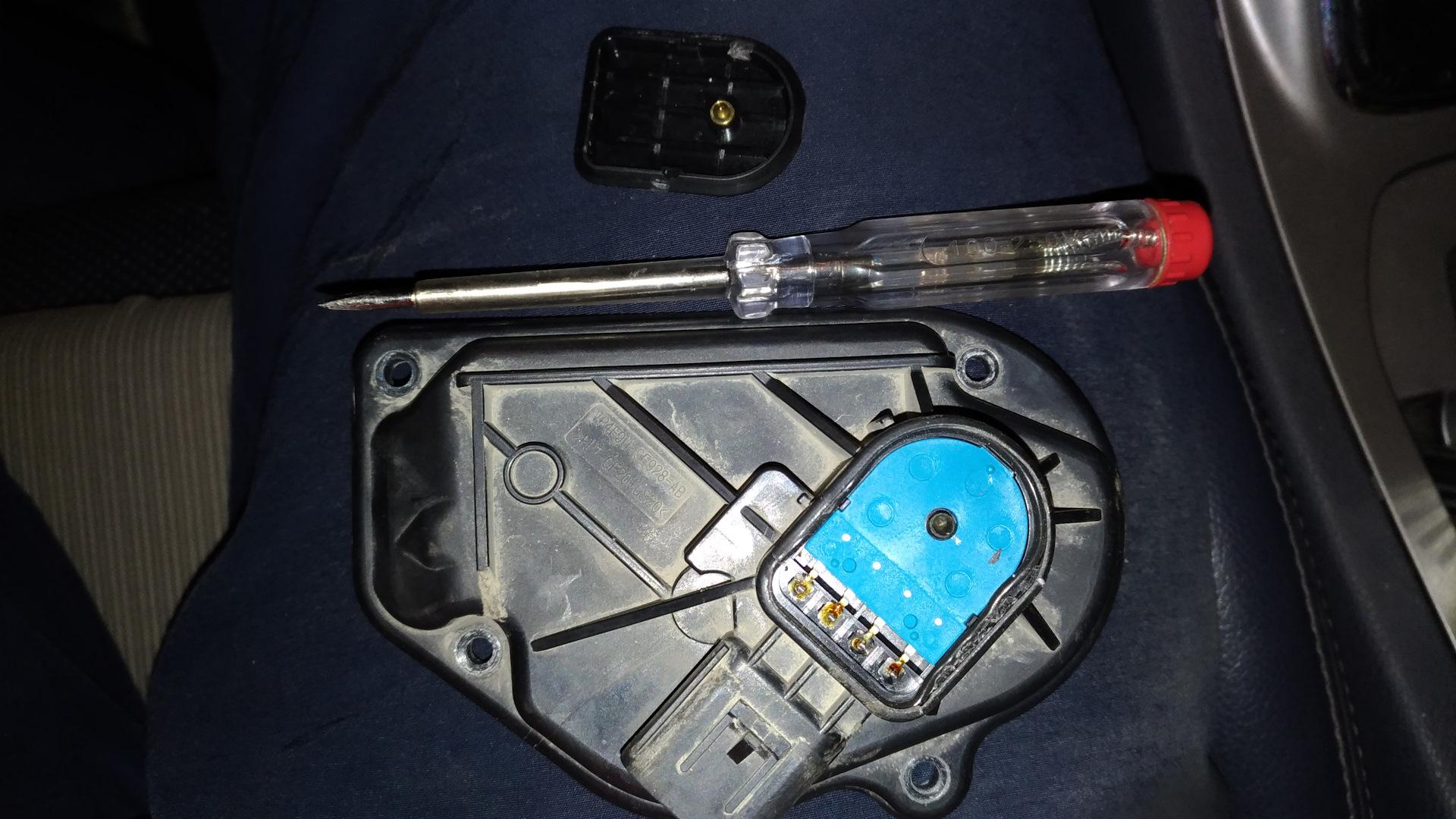 ford s-max сообщение двигатель неисправен заслонка