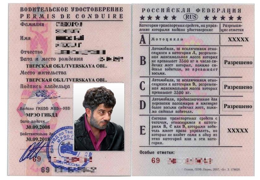 истечение сроки паспорта: