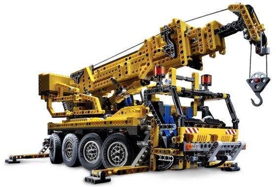 LEGO Technic 8421 — мобильный