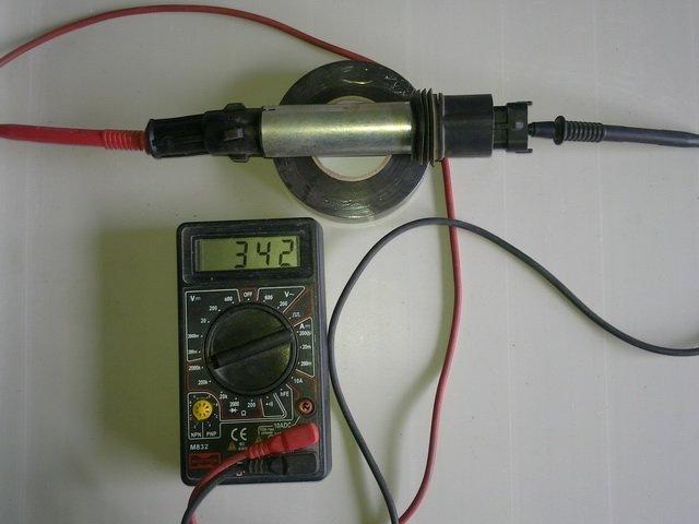 как проверить катушку зажигания мерседес мл320