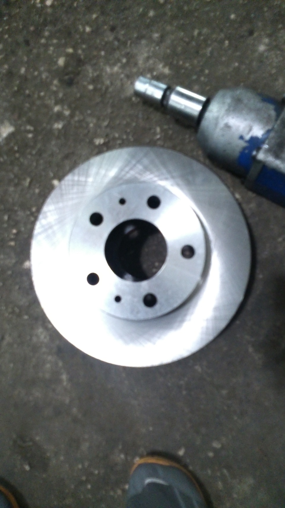 Замена тормозных дисков пежо боксер
