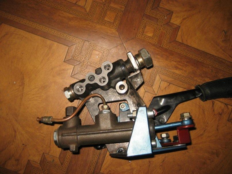 1) Ручник BMW E30 (Штатный)