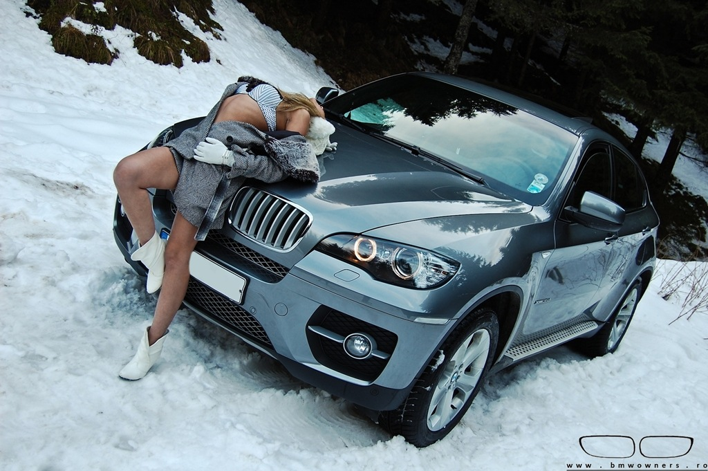 Having Sex In A Snow Covered Car