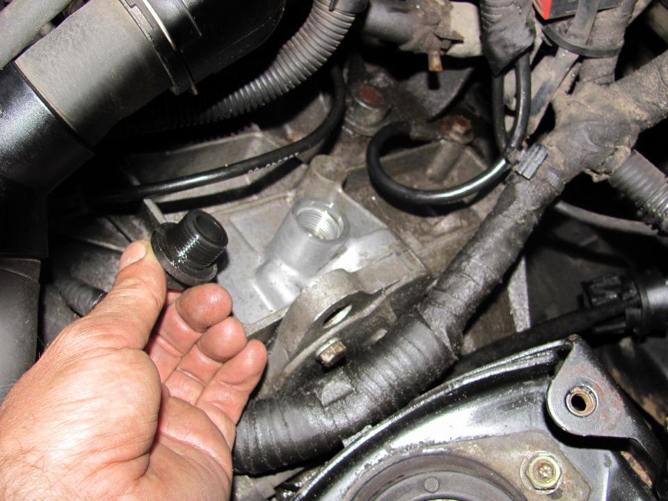 Замена масла в двигателе на ситроен с4 своими руками 39