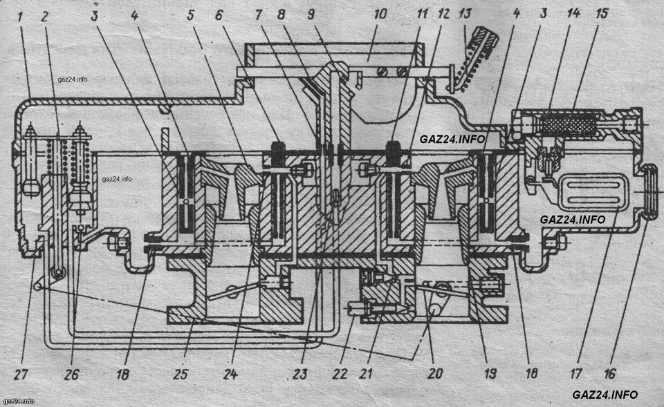 Схема К-126ГМ.