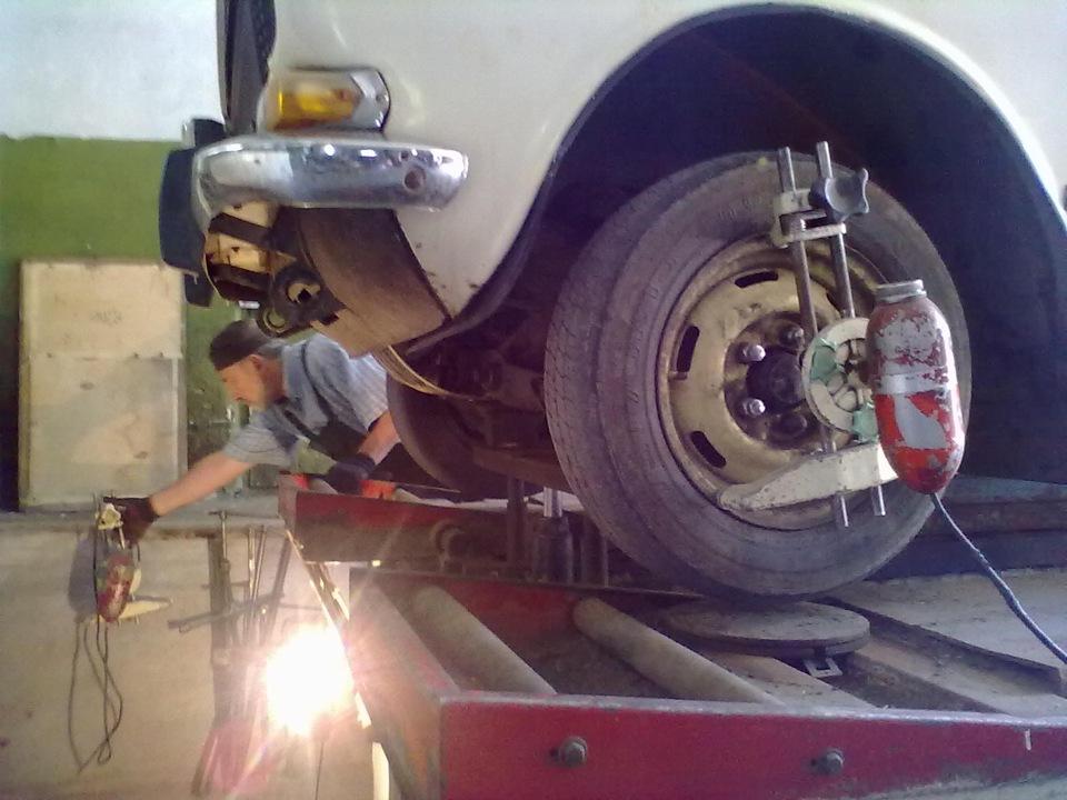 Схождение и развал колес в домашних условиях - Сделай Сам!