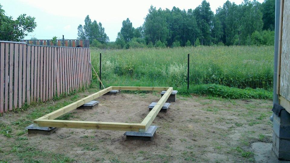 Как построить фундамент на даче своими руками поэтапно