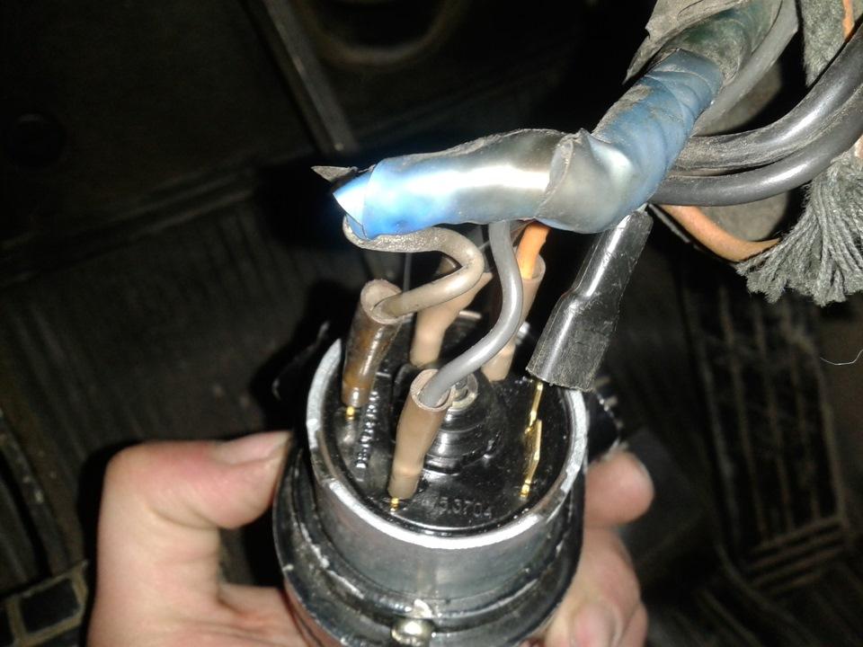 Замена замка зажигания или контактной группы на автомобилях ваз.