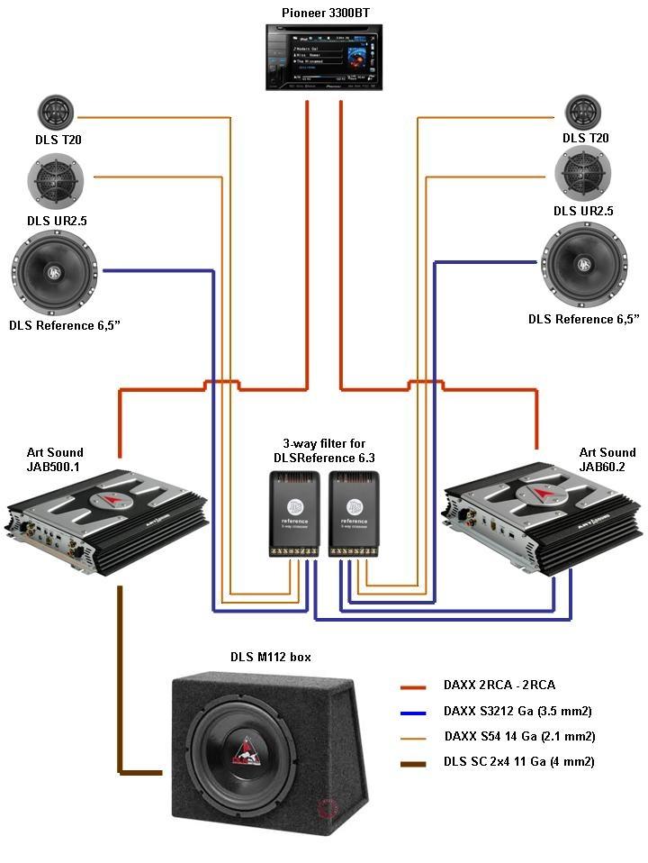 акустическая схема Yeti 1.0