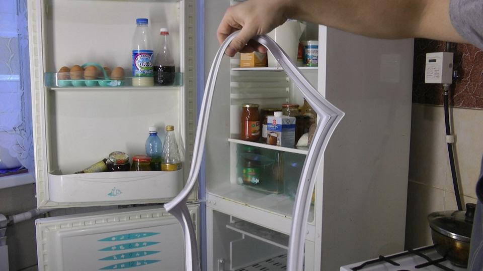 Замена своими руками уплотнителя холодильника стинол 18