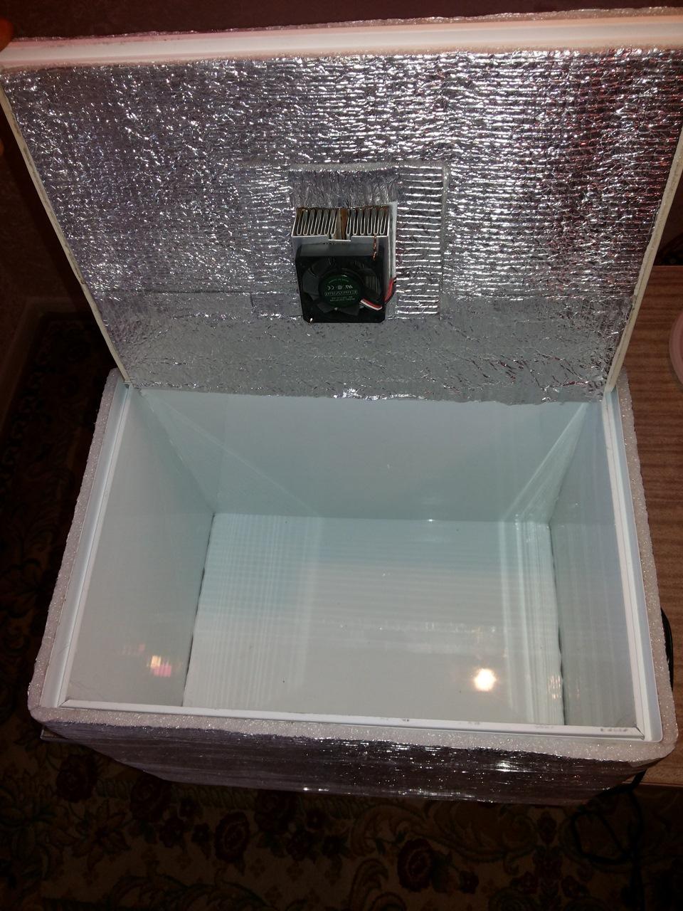 Как сделать холодильник на природу своими руками