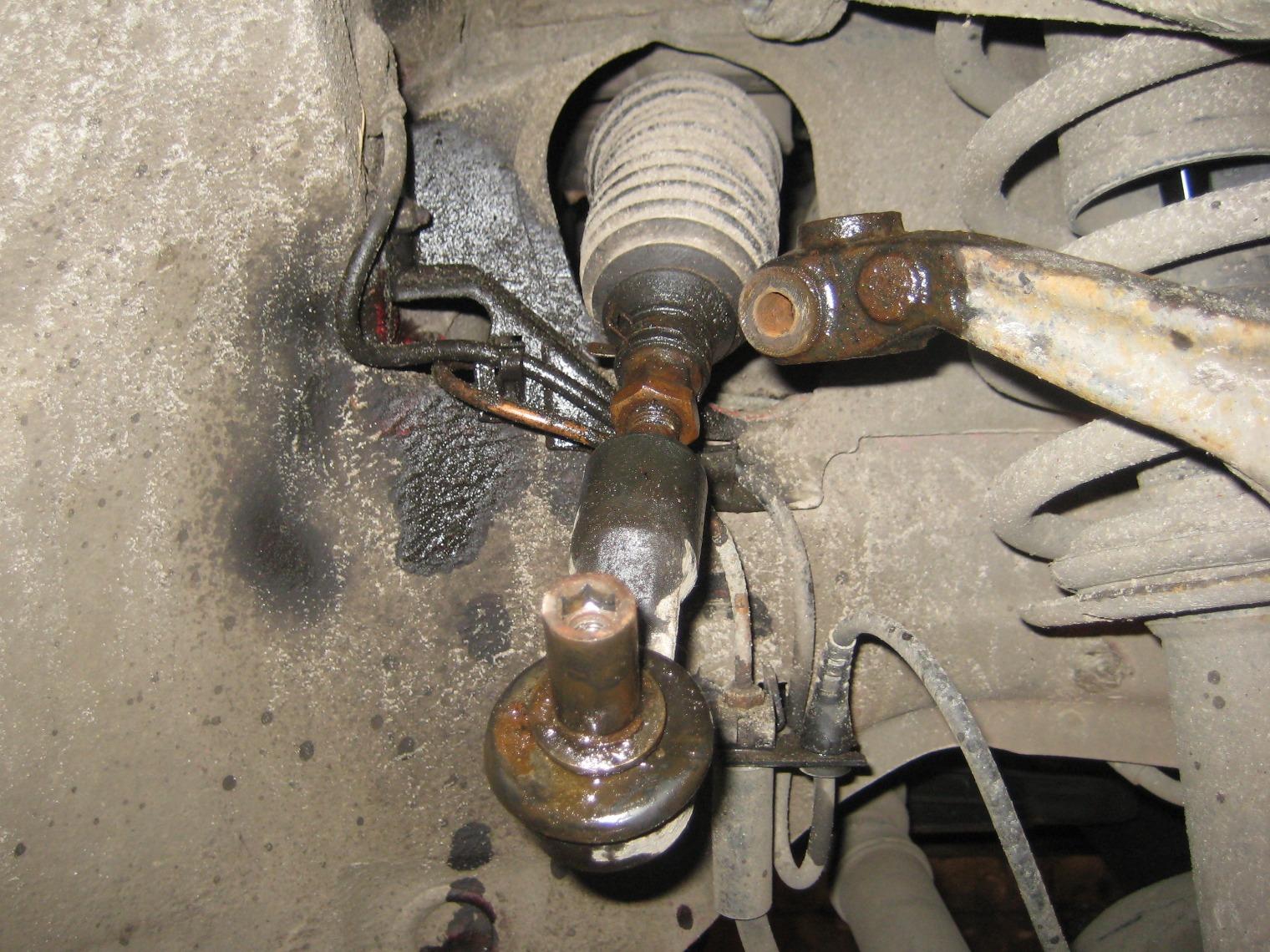 Замена рулевых тяг и наконечников. - logbook Audi A6 1998 on DRIVE2