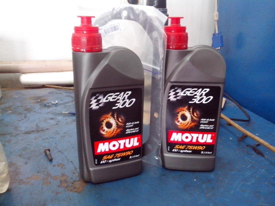 Трансмиссионное масло Motul