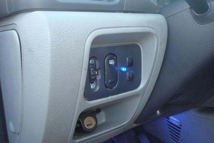 renault symbol установка сигнализации с автозапуском