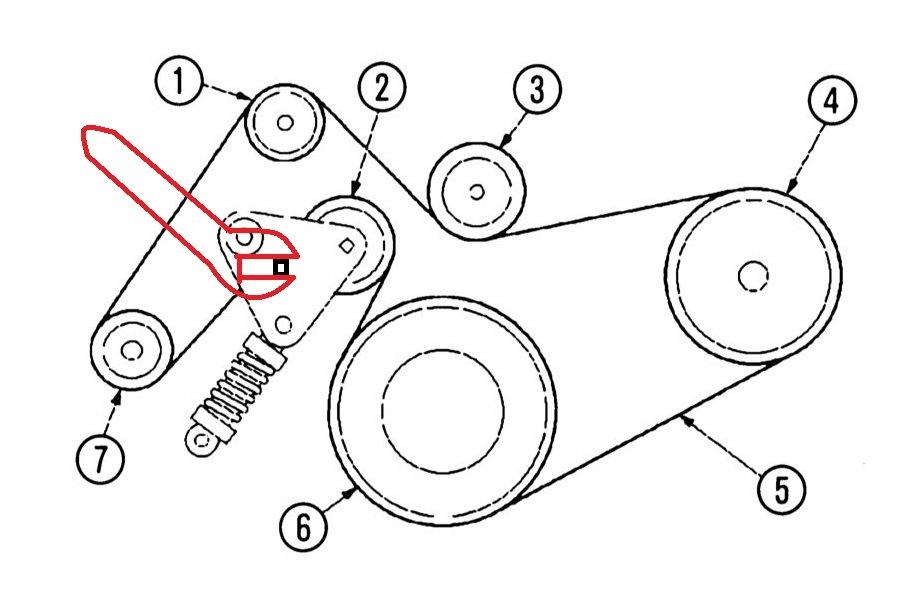 Схема ремня форд мондео 3 фото 651