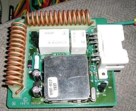 ...и поменьше -реле замка багажника, эти реле управляются транзисторами условно по такой схеме (детали и обвеска...