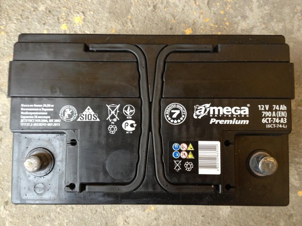 аккумулятор на опель омега б 2.2 бензин