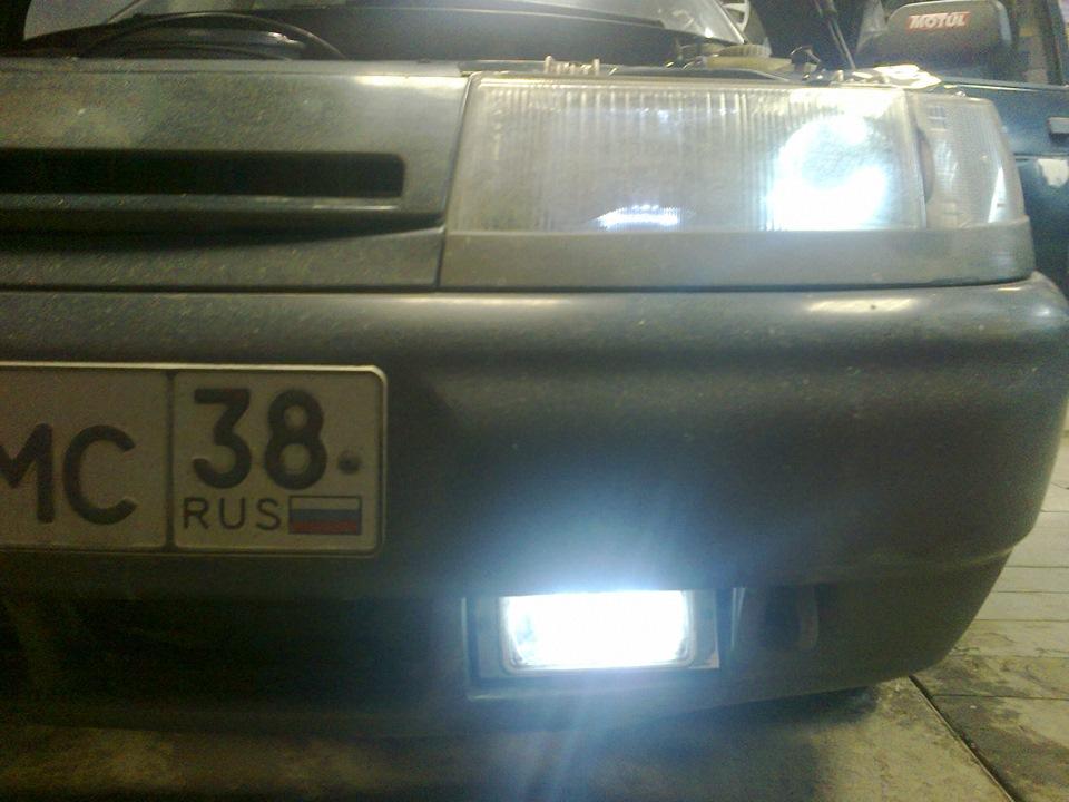 Фото №10 - ходовые огни на ВАЗ 2110
